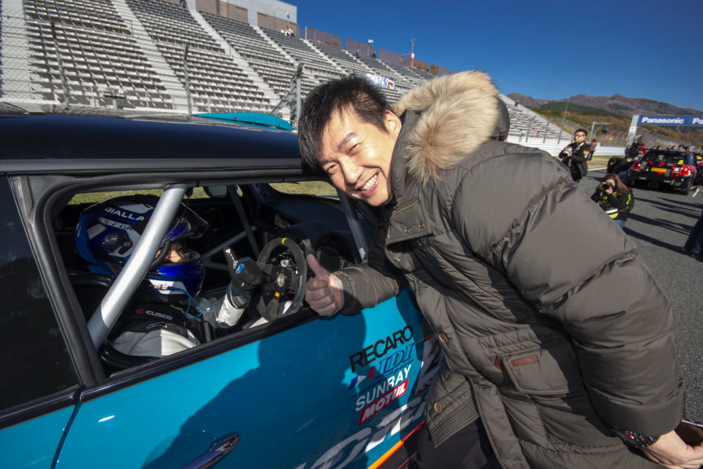 吉田淳一選手:EX-FORM RACING TEAM